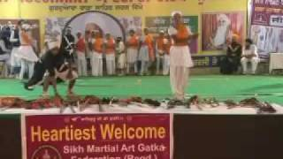 First International Gatka Competition at Gurduara Yadgar Sahib jarg 34.mp4