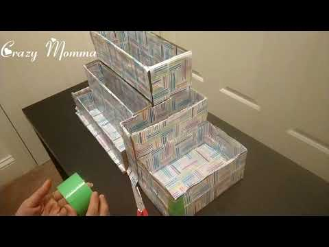 Kids Book Organizer DIY   Crazy Momma   Book Shelf DIY