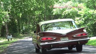 1959 Chevrolet Biscayne classic car retro test drive with Samspace81