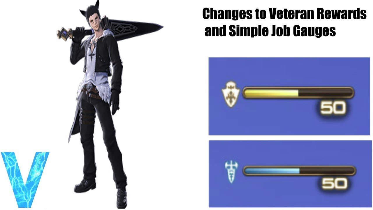 FF XIV: Changes to Veteran Rewards and Simple Job Gauges