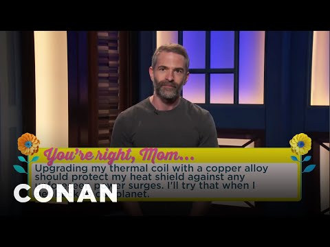 What Every Mom Wants For Mother's Day CONAN on TBS