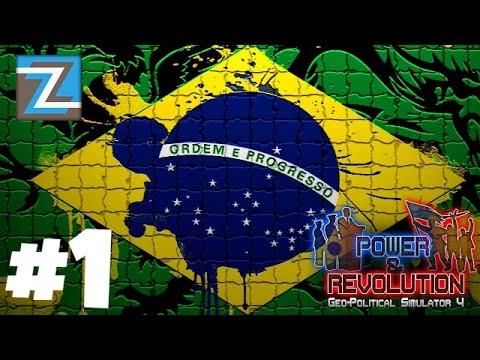 Geo-Political Simulator 4 - Brasil [1] E AGORA 100% EM PORTUGUÊS!!!! BRUTALIDADE!!! #gps4 PT-BR