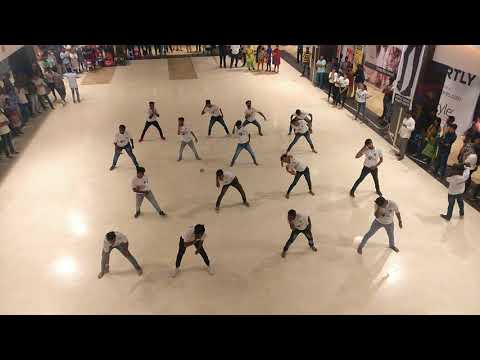 MREC flashmob 2k18 @manjeera mall Kukatpally