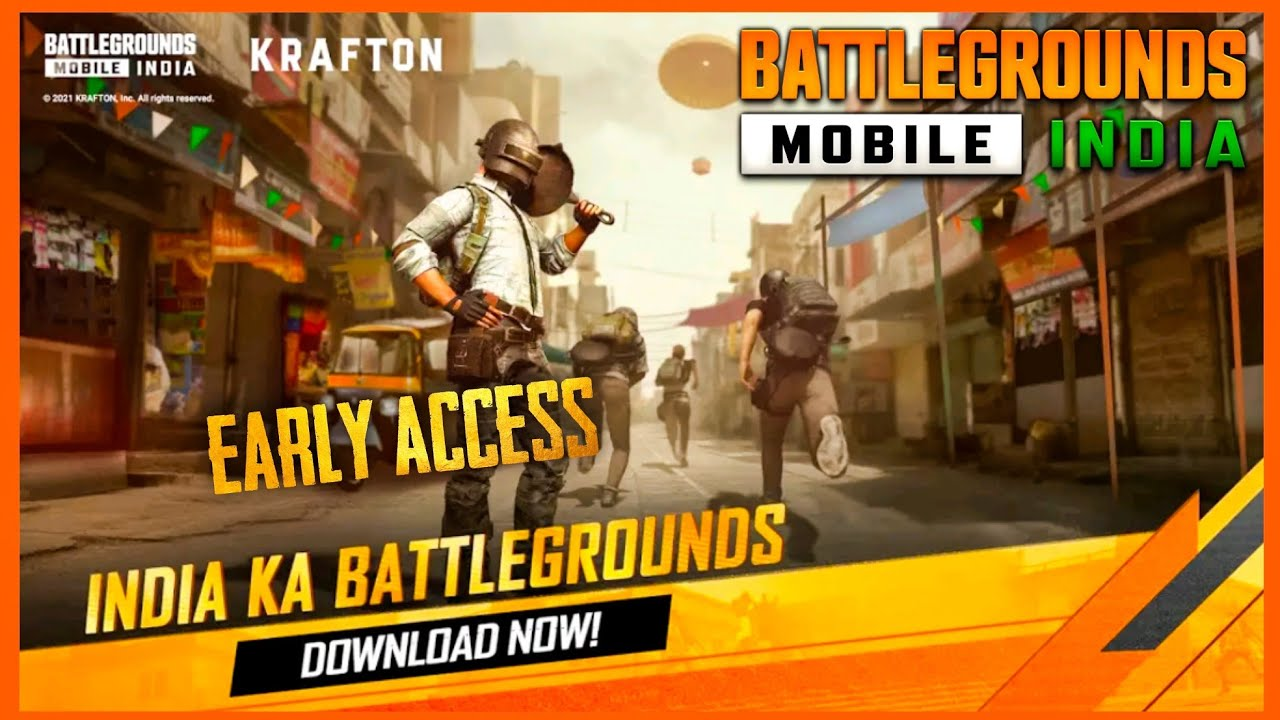 EARLY ACCESS : BATTLEGROUNDS MOBILE INDIA FIRST LOOK