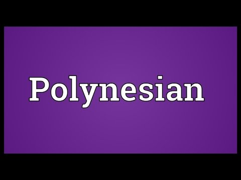 Polynesian Meaning