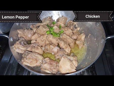 Delicious Lemon Pepper Chicken Recipe