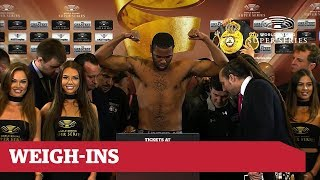 Gassiev vs Dorticos: Weigh-In Live Stream