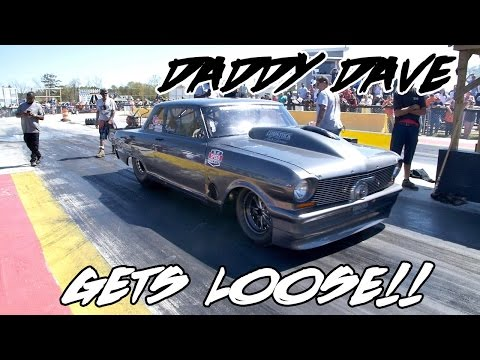 STREET OUTLAWS DADDY DAVE GOLIATH GETS LOOSE AT THE NEW 710 DRAGWAY!!