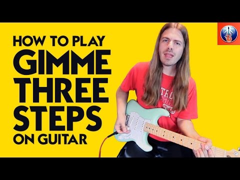 How to Play Gimme Three Steps on Guitar - Lynyrd Skynyrd Southern Swing Lesson