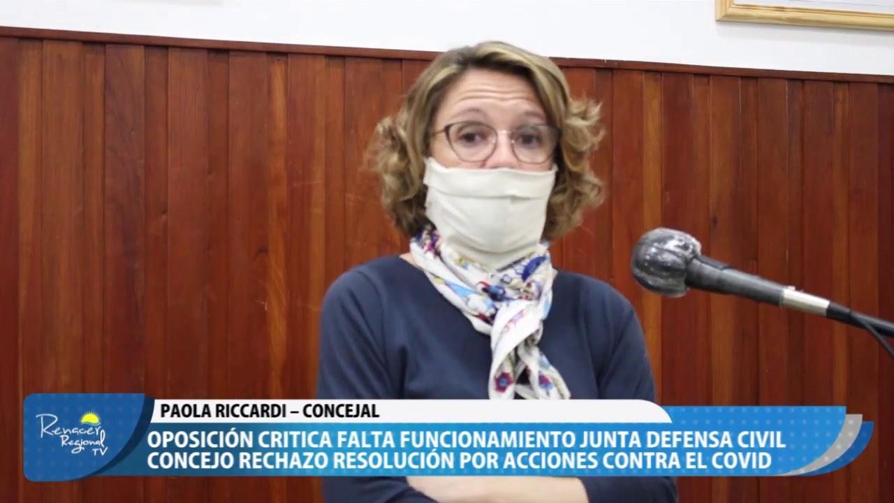 25-08-20 Nota Paola Riccardi - Concejal