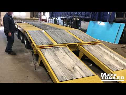 Air Powered Ramp - Equipment Trailer