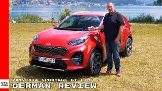 2019 Kia Sportage 2.0 CRDi GT Line - German Review
