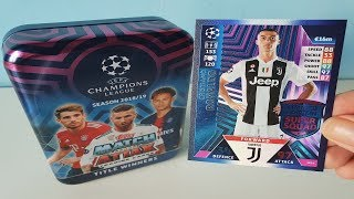 APERTURA MEGA TIN | MATCH ATTAX UEFA CHAMPIONS LEAGUE 2018/19 | TITLE WINNERS