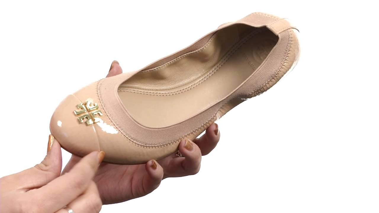 48cefb57966 Tory Burch Jolie Ballet SKU 8819267 - YouTube