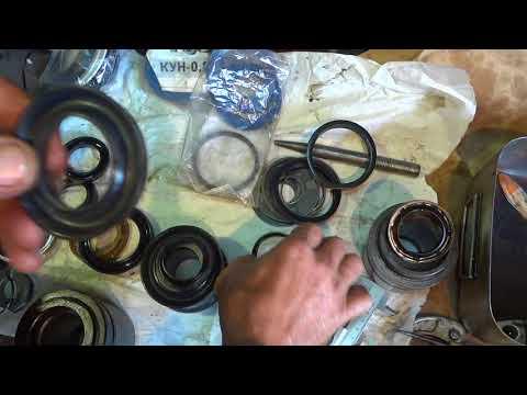 Гидроцилиндр ремонт своими руками видео