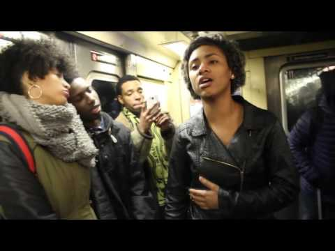 "NYC's ""Free Expression"" Subway Series Episode 2"