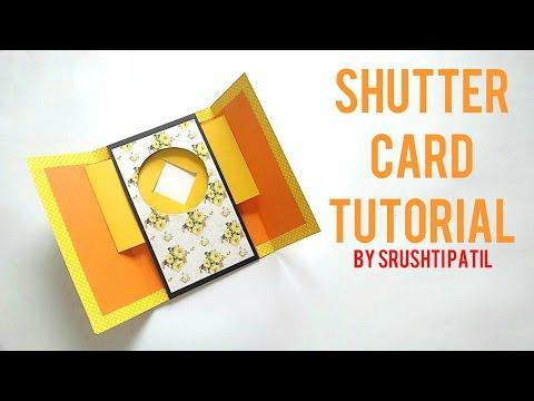 Shutter Card Tutorial By Srushti Patil