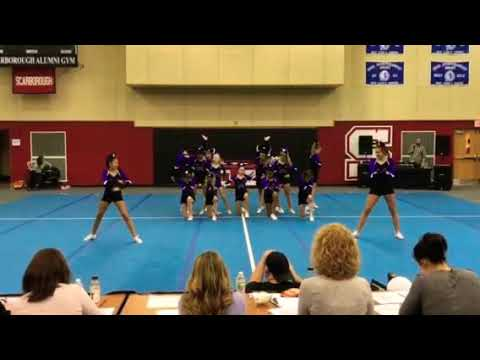 Marshwood middle school competition cheer 2018