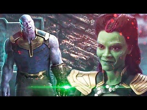 Se Revela Impactante Escena Eliminada de  Thanos Y Gamora en InfinityWar!!