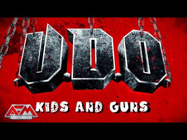U.D.O. - Kids And Guns (2021) // Official Lyric Video // AFM Records