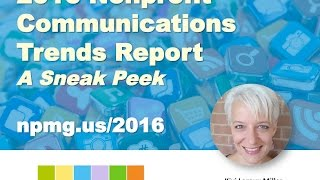 12/3/15 GuideStar Webinar: Sneak Peek at the 2016 Nonprofit Communications Trends Report