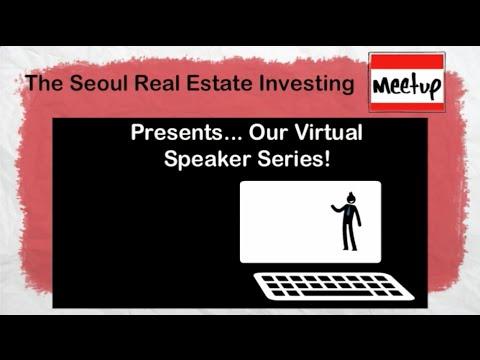 Matt Faircloth Visits the Seoul Real Estate Investing Meetup