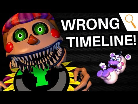 FNAF: MatPat was WRONG! (The FNAF Timeline - Ultimate Custom Night | Game Theory)