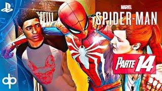 SPIDERMAN PS4 Parte 14 Gameplay Español PS4 PRO | Edificio en llamas (Marvel's Spider-Man 2018)