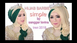 Hijab barbie simple tren 2018 by sanggar lavina