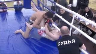 Микс файт (М-1). Дружба народов - 2.  Хожиев vs Хмару. Санкт-Петербург 2016
