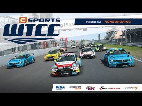 eSports WTCC | Round 03 – Nordschleife [French Broadcast]