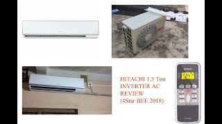 Hitachi 1.5ton 4star 2018 Inverter AC Review