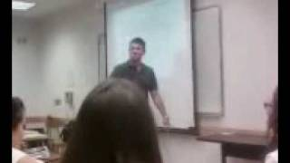 Professor Mikhail Alexseev Treats Class to a song