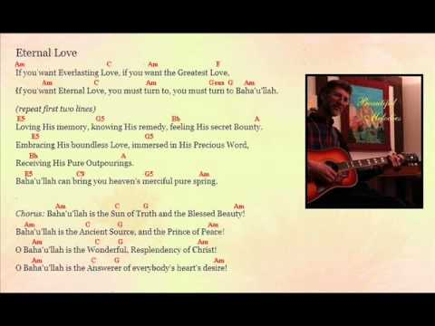 Eternal Love Song By Jim Styan With Chords Youtube