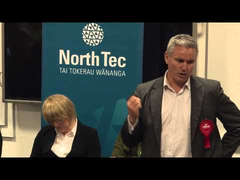 Universal Student Allowance   Political Debate at North Tec Aug 2014