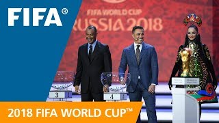 Story of the Day - Final Draw for the 2018 FIFA World Cup Russia