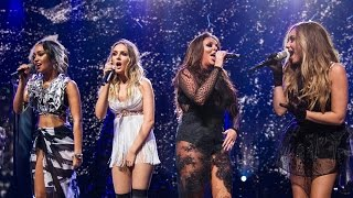 "Little Mix Performs New Single ""Love Me Like You"" Teaser"