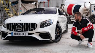 Visiting Gucci In A New Mercedes S63 Amg