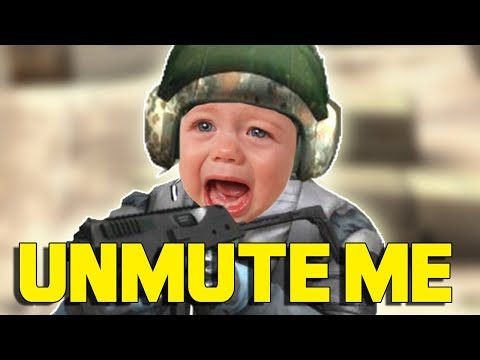 'MUTED' PRANK (CS:GO)