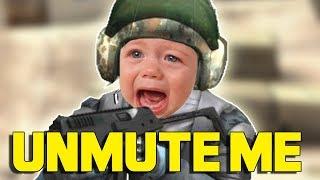 'MUTED' PRANK (CS:GO)