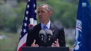 Obama Talks Climate Change Threat To Coast Guard Grads- Full Speech