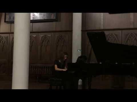 Fauré Barcarolle No. 1 In A Minor ~ Opus 26 // Cassie Weist