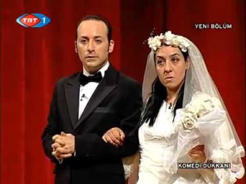 komedi dükkanı Yeni evli çift