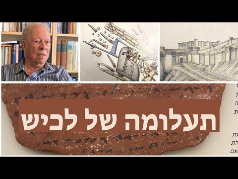 תעלומת לכיש - פרופסור דוד אוסישקין