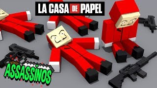 Minecraft: LA CASA DE PAPEL! (Assassinos)