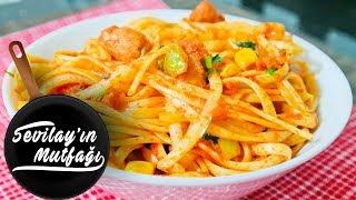 Ton Balıklı Spagetti Nasıl Yapılır? | Ton Balıklı Spagetti Tarifi