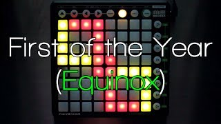 Nev Plays: Skrillex - First of the Year (Equinox) Launchpad Cover