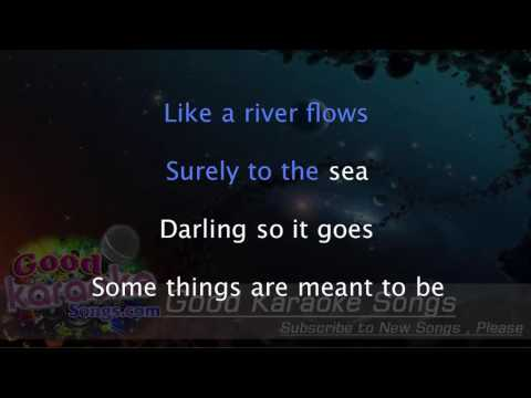 Can't Help Falling In Love - Stevie Wonder ( Karaoke Lyrics )