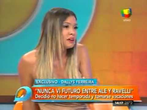 "Dallys Ferreira: Nunca vi futuro entre Matías Alé y Sabrina Ravelli"""