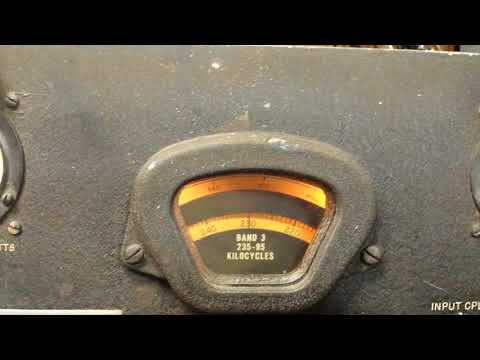 RBA-7 Navy VLF Receiver - YouTube